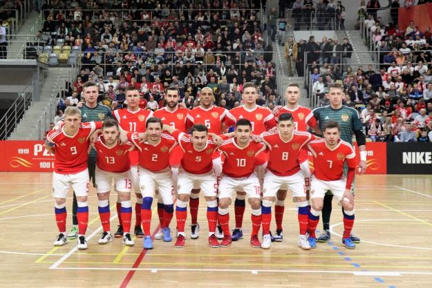 Сборная Росии по мини-футболу